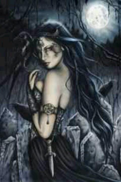 Wiccan witch pagan gothic