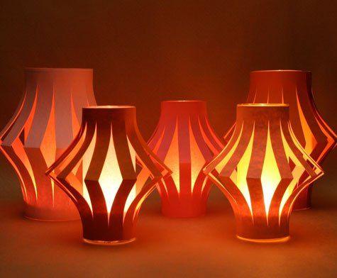 Tutorial: Lanternas de papel II                                                                                                                                                                                 Mais