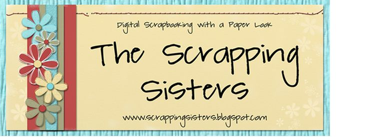 Scrapping Sisters Wordart