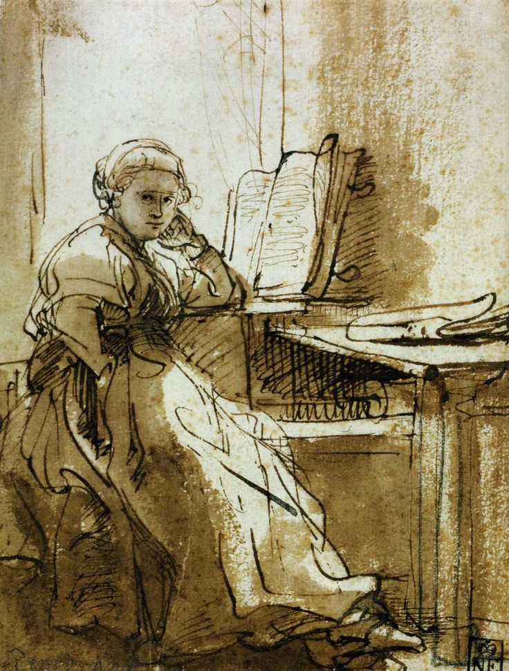 Préférence 280 best Rembrandt images on Pinterest | Rembrandt, Drawings and  PN56