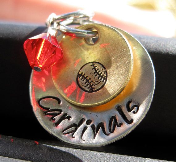 St Louis Cardinals necklace