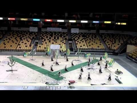Tarpon Springs HS World Guard - WGI Orlando Super Regionals Finals 3.24.13