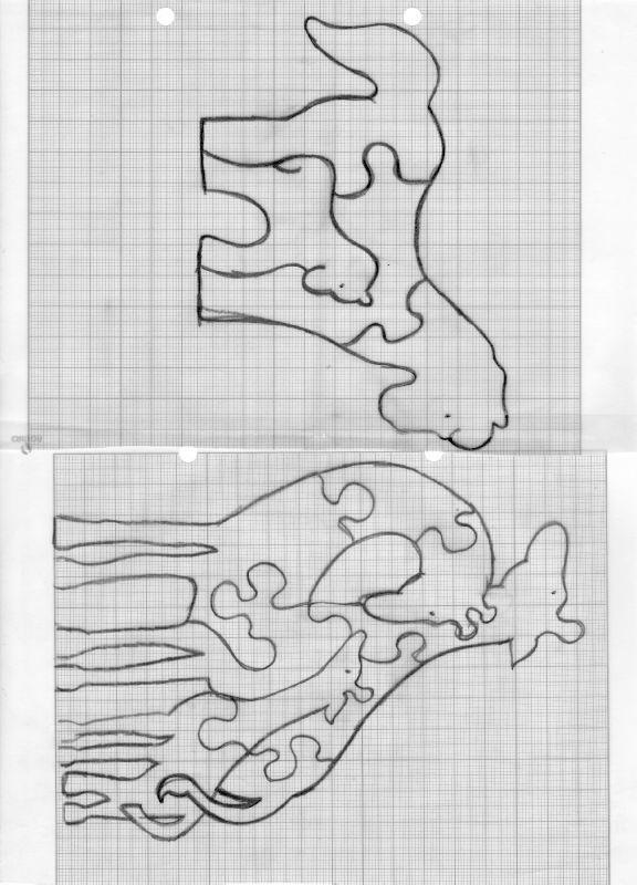 puzzle bois - les créa de kat                                                                                                                                                     Plus