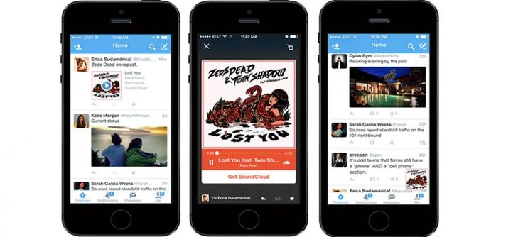 #Twitter's Mobile #App comes with Audio Card and Supports #iTunes Preview.