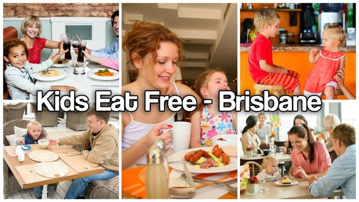 #Brisbane's Best #Family #Eateries Where #Kids #Eat #Free. We all know nothing beats a #home #cooked meal; but it's nice to let someone else do the #cooking for a change…