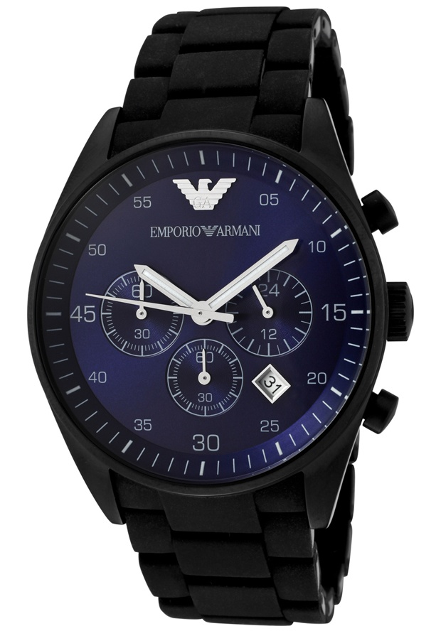 Price:$239.40 #watches Emporio Armani AR5921, A true work of art. This Emporio Armani timepiece glows with a unique aura it is sure to be the perfect addition to your timepiece collection.