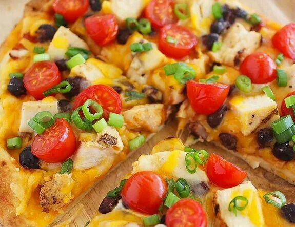 Flat bread Mexican pizza | Lets Eat! & Let's Drink | Pinterest