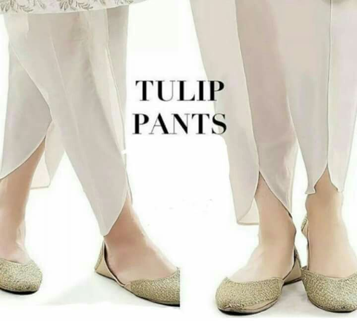 Pakistan fashion tulip pants