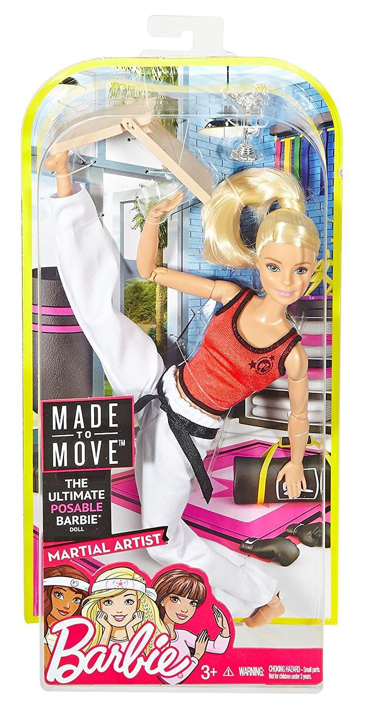 Barbie Made To Move Martial Artist5 Barbie Doll