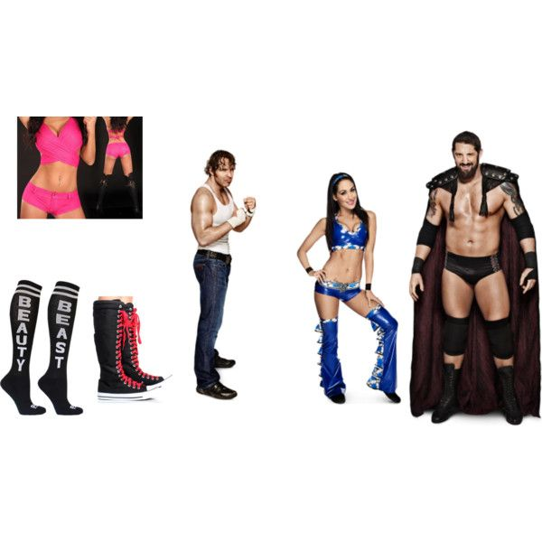 You and Dean vs. Brie and Wade Barrett/Bad News Barrett