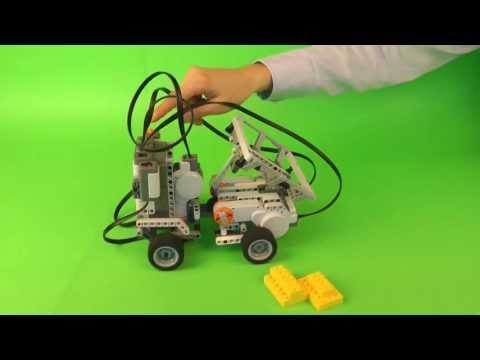 Dump Truck serves as an example of a specialized vehicle that help people transport heavy cargo. Robot has been built with LEGO Mindstorms NXT 2.0 construction set.