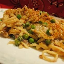 "Turkey Tetrazzini II I ""This recipe was so quick and easy and so good! I had some leftover lemon/garlic turkey tenderloin that I used."""