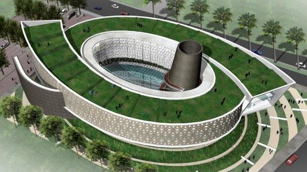 Tsunami Museum, Banda Aceh, Aceh, Indonesia  Designed by Ridwan Kamil, Urbane.
