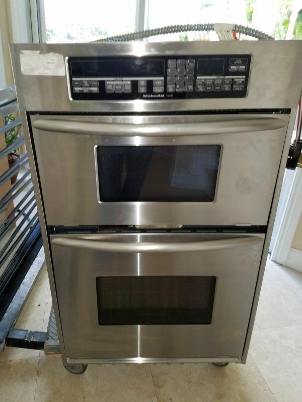 KitchenAid Micro/Oven Combo in Miami, FL (sells for $550)