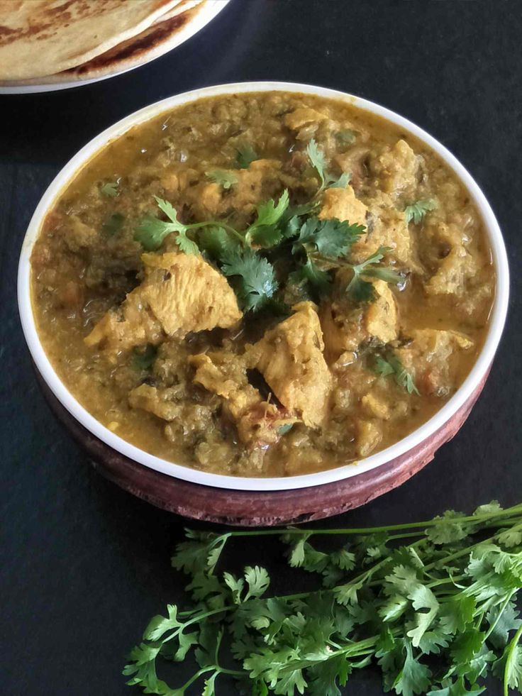 The Methi Chicken Curry Recipe is a delicious curry where the chicken is cooked along with methi/ fenugreek leaves with a spicy ginger garlic gravy. The addition of the tadka along with the fresh spices highlights the flavors of the methi chicken curry recipe. Methi leaves i.e. fenugreek leaves when consumed, are beneficial for the heart as well as the skin. Methi is very beneficial to people having high cholesterol as well as diabetics due to its capability to cut down cholesterol level...