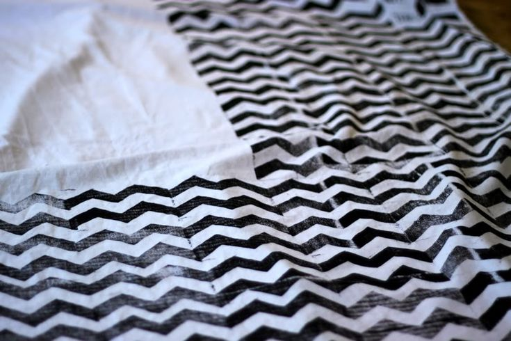 How to Block Print Fabric | Prudent Baby