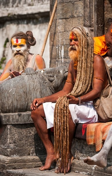 Holy Men With Beautiful Long Dreads Long Hair Styles Men