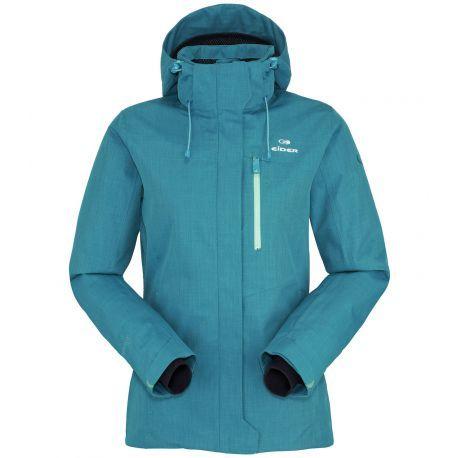 La veste de ski Arcalis Jkt d'Eider conjugue confort, protection et polyvalence.