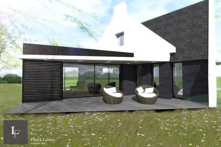 Maison lj extension et r novation d 39 une maison n o for Extension maison 3 murs