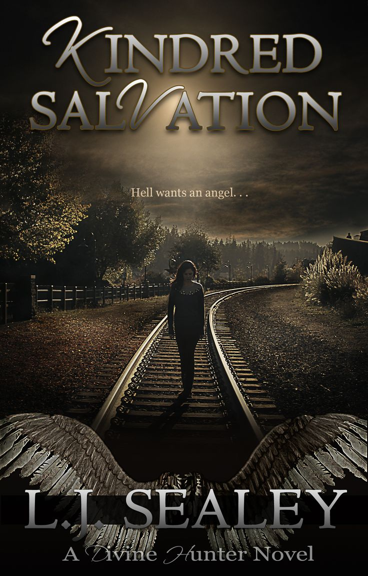 """.• KINDRED SALVATION (Divine Hunter #3) by L.J. Sealey •.  The anticipated third book in the paranormal romance series Divine Hunter is OUT NOW!  ★★★★★ """"Highly recommended for anyone who loves Paranormal Romance - this is how it should ALWAYS be written"""" - Hazel Butler. Author of Chasing Azrael.  .•*•.Book one, AWAKEN, is FREE on  eBook everywhere.•*•. Amazon: http://mybook.to/AwakenDH"""