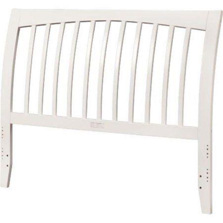 Free Shipping. Buy Atlantic Furniture AR292832 Orleans Full Size Headboard, White at Walmart.com