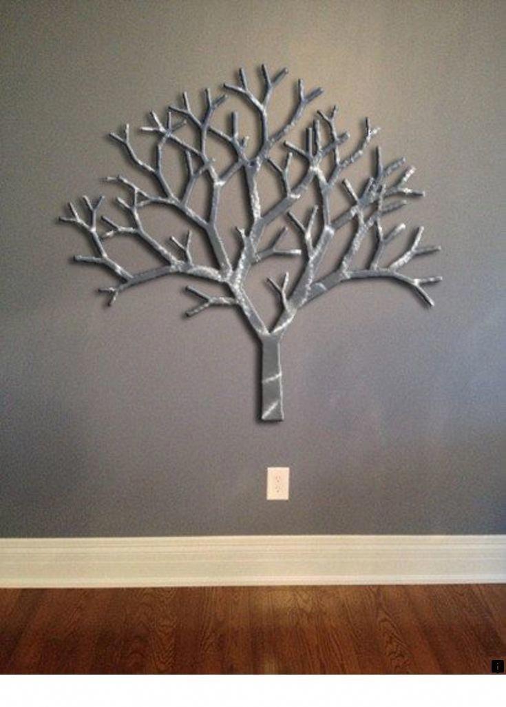 Настенное металлическое дерево для фотографий динамиках тишина