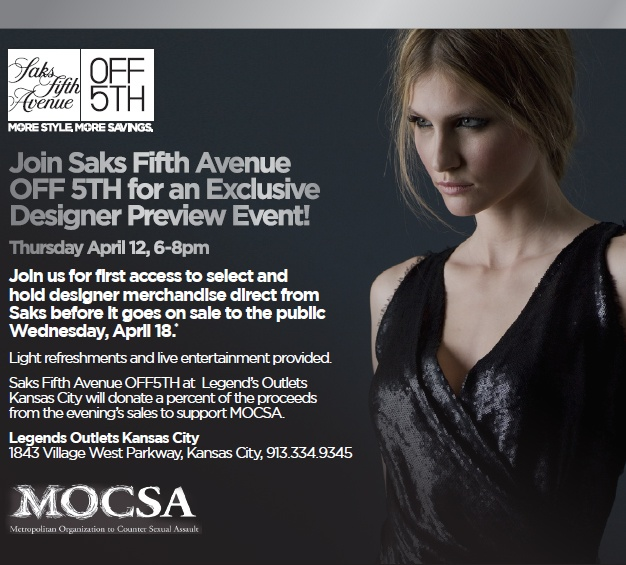Join us for this exclusive event to benefit MOCSA!