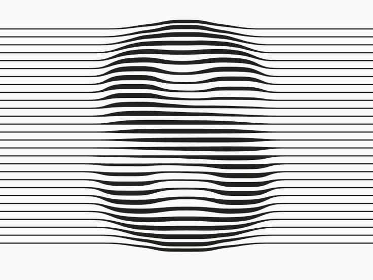 animated type design - motion design - gifs STRIPED by Dave Whyte