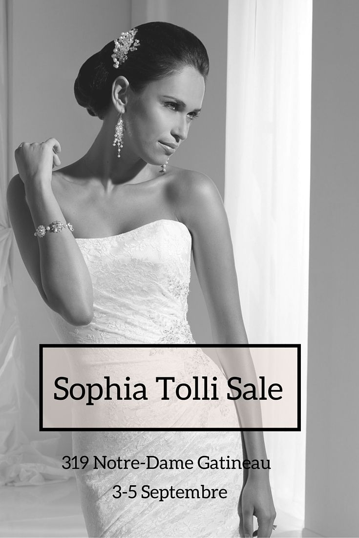 Sophia's dresses are simply amazing! Beautifully constructed, with elegant lace and hand-beaded crystal details. It makes every bride who wear one of her creations, feel like a princess. Savings up to 70% on select dresses.