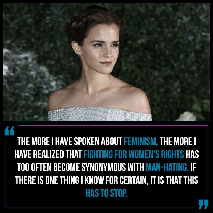 On What Feminism Isn't... - Emma Watson's Most Powerful Quotes About Feminism and Women - Photos