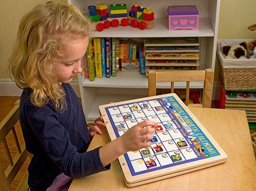 Wooden Magnetic Calender for kids