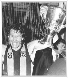 1976, Hawthorn 13.22 (100) d North Melbourne 10.10 (70).    Coach: John Kennedy  Captain: Don Scott