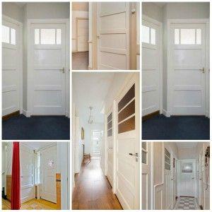 Paneeldeuren jaren 30 huis - Jaren 30 woning specialist