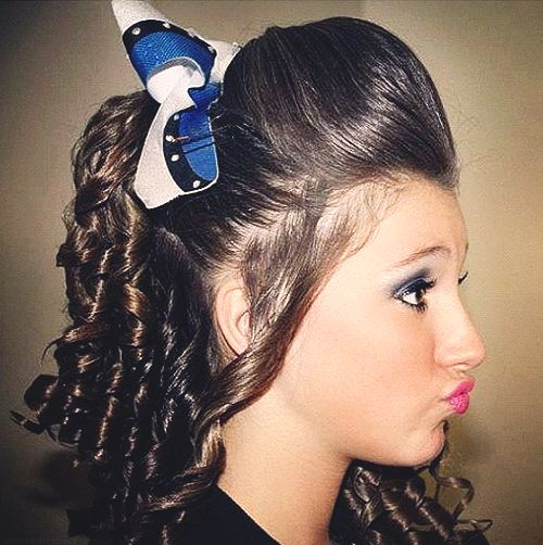 curl hair styles 113 best cheer hair curly hair images on 1728 | 5e5afda2ef680824a19bb877247b1728 cheer hair curly hair