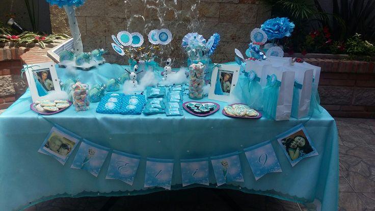 Mesa dulce Frozzen