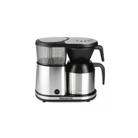 Bonavita BV1500TS 5-Cup Coffee Maker with Thermal Carafe, Silver