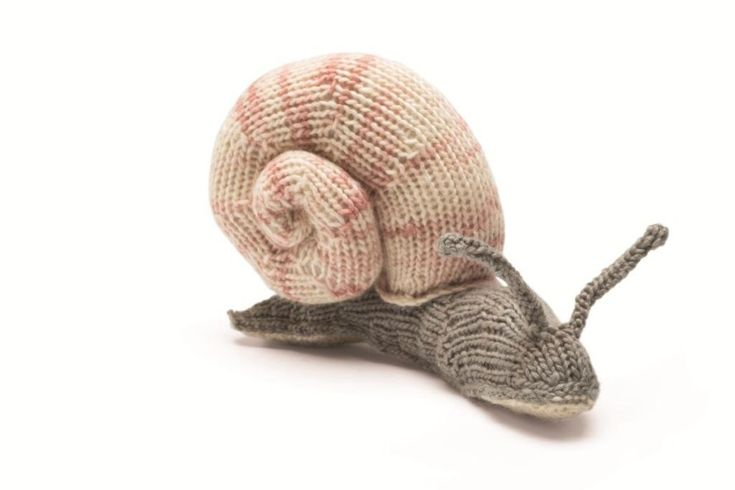 How to Knit a Snail #Knitting