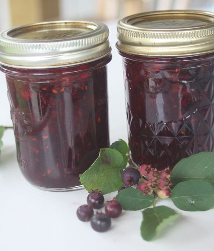 Serviceberry Lemon Balm Jam