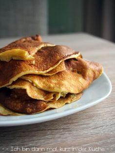 Ich bin dann mal kurz in der Küche: {Low Carb} Die perfekten Pfannkuchen als Dessert