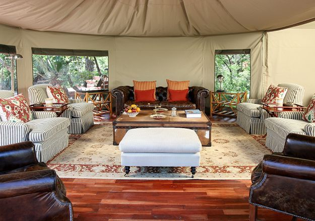 Glamping has never been as glamorous as it is at Nkomazi Game Reserve.