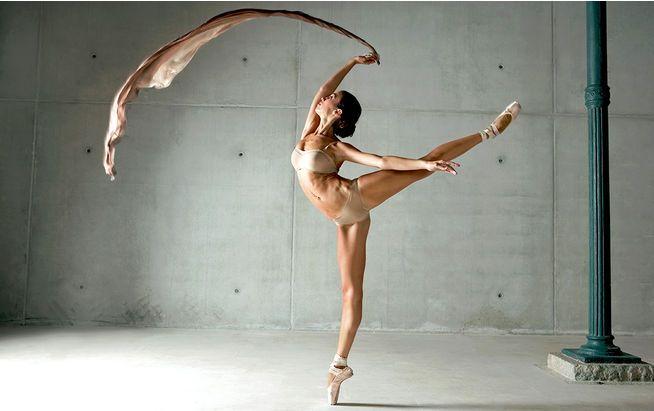 Bei Ballerinas ist die Ernährung wichtiger Teil der Fitness