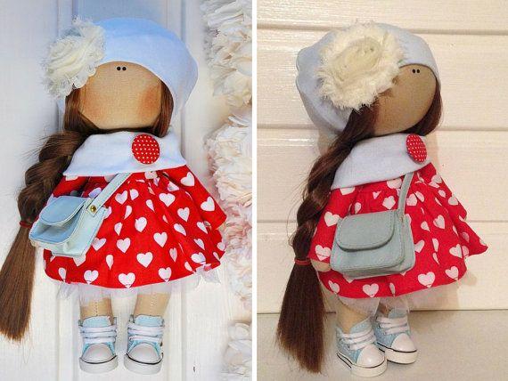 Tilda la muñeca muñeca de la tela muñeca por AnnKirillartPlace