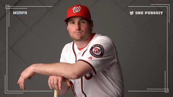 "daniel murphy nationals | Washington Nationals on Twitter: ""Of COURSE Daniel Murphy's 1,000th ..."