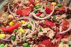 Illes leichter und leckerer Thunfisch - Tomaten - Salat 5