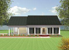 Alcott Southern Home  from houseplansandmore.com