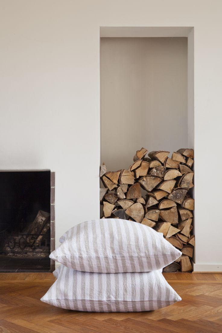 Cushion cover - marble grey.  100% organic. soysol.com