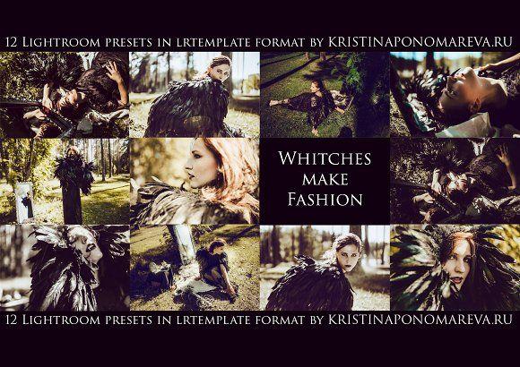 Whiches make Fashion-12 Lr Presets by Krisp_Krisp on @creativemarket