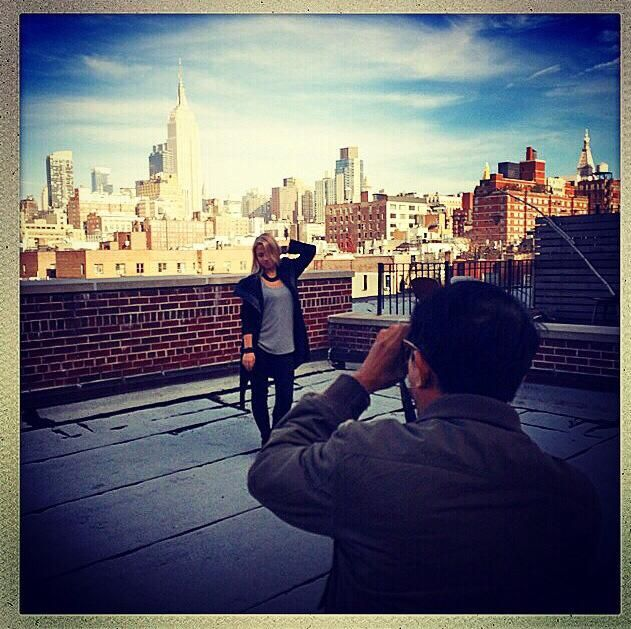 Perfect day for a shoot in NYC