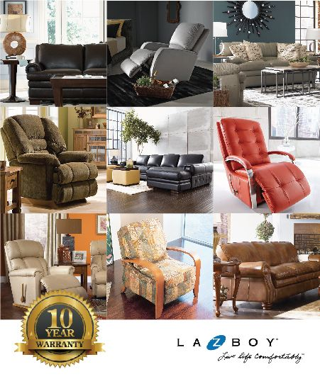 What sets La-Z-Boy apart from the others? La-Z-Boy gives you 10 years of warranty! & 15 best ALL ABOUT LA-Z-BOY images on Pinterest | La z boy ... islam-shia.org