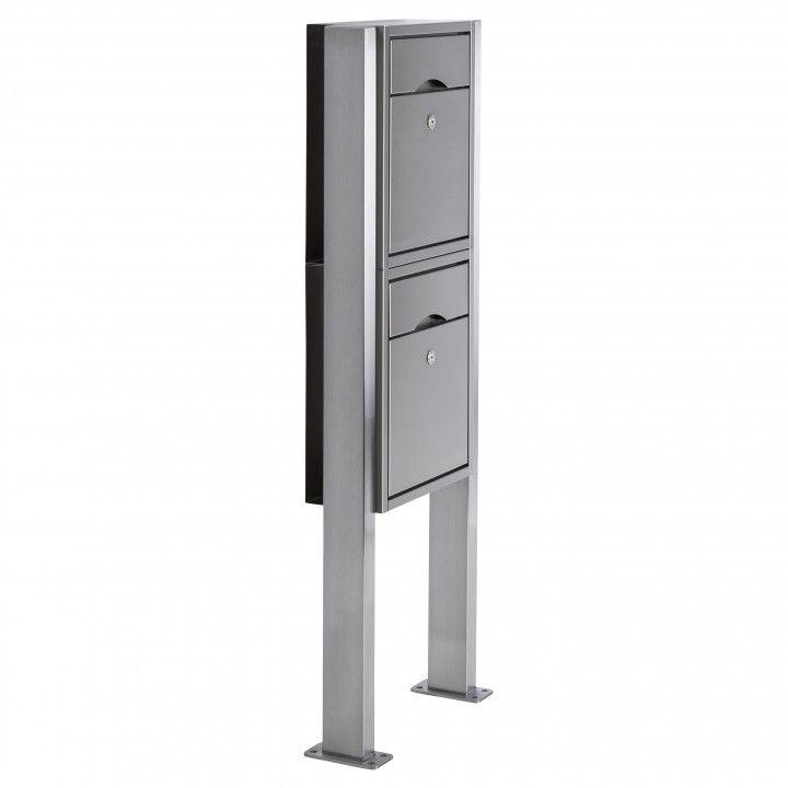 doppel briefkasten freistehend briefkasten freistehend g nstig dn03 hitoiro design doppel. Black Bedroom Furniture Sets. Home Design Ideas